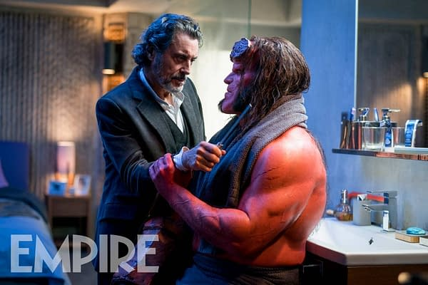 The New Reboot Deals with Hellboy as a Killer, Plus New Image