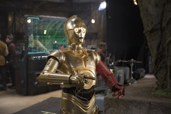 Today Was Anthony Daniels, C-3PO's Last on 'Star Wars: Episode IX'