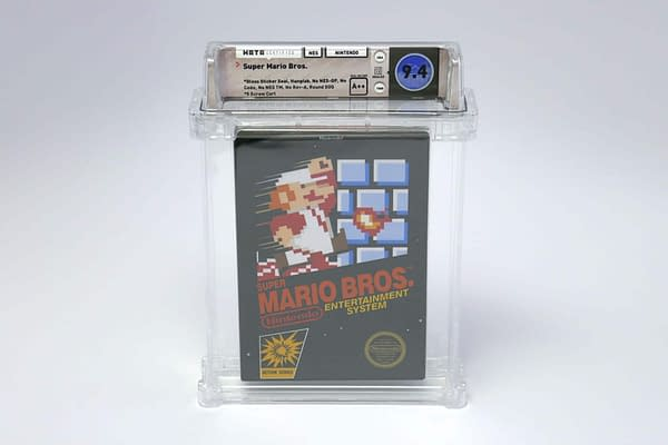 A Sealed Copy of Super Mario Bros. Sells For Over $100k