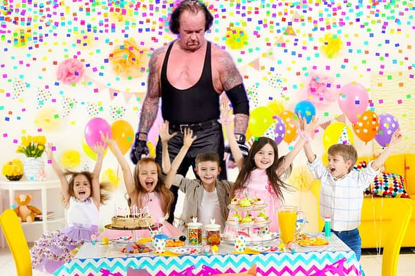 How Much Will It Cost to Hire The Undertaker for Your Wedding, Bar Mitzvah, or Birthday Party?