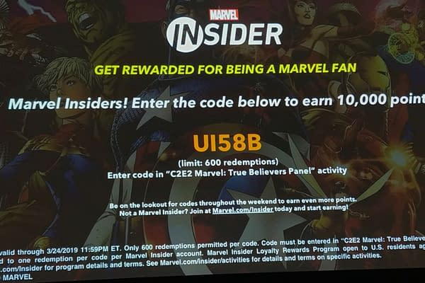 The Marvel Insider Code From the True Believers Panel at C2E2