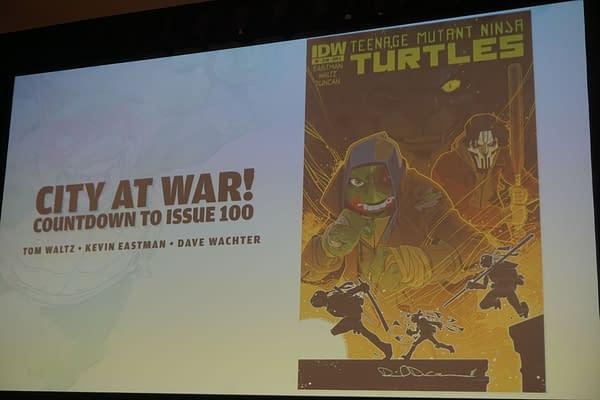 IDW Publishing 20th Anniversary Celebration Panel at Wondercon