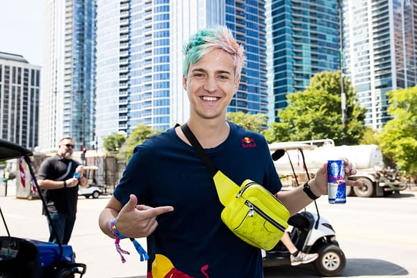 Ninja makes his return after leaving for Mixer last year. Photo credit Ryan Hadji/Red Bull.