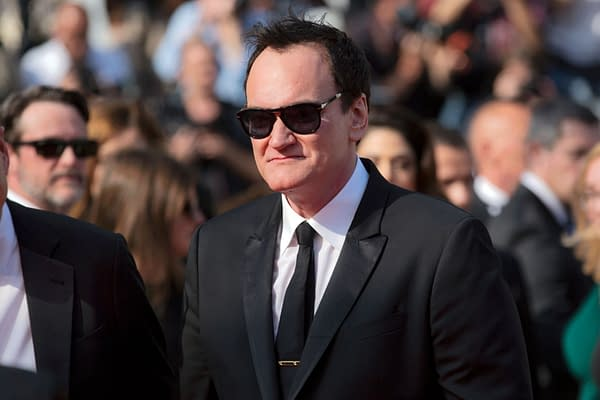 """Quentin Tarantino attends the premiere of the movie """"Once Upon A Time In Hollywood"""" during the 72nd Cannes Film Festival on May 21, 2019 in Cannes, France."""