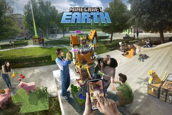 """Minecraft Earth"" Will Be Joining Early Access Sometime In October"