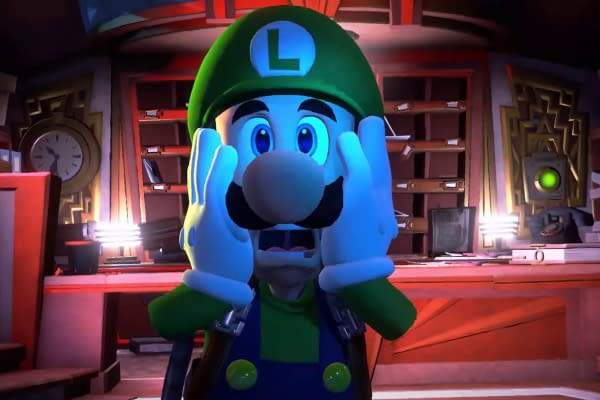 Mamma mia! Is it true? All these years Luigi has just been hiding in Super Mario 64? Courtesy of Nintendo.