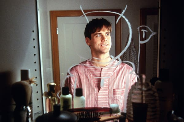 """""""Sonic"""" Actor Jim Carrey Examines Cultural Irony Behind """"The Truman Show"""""""