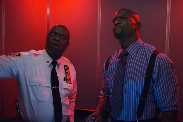 Andre Braugher and Terry Crews star in Brooklyn Nine-Nine, courtesy of NBC.