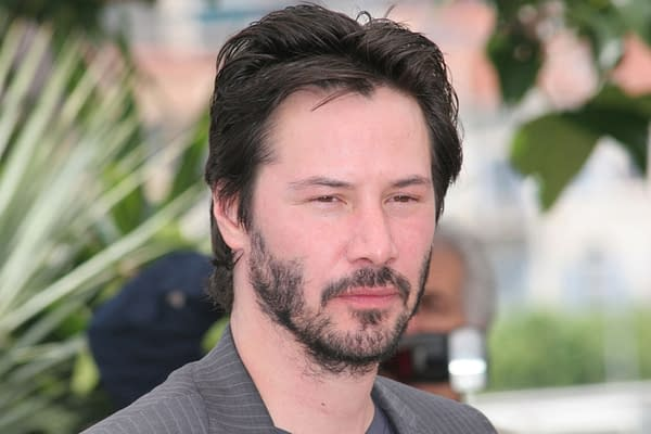 Keanu Reeves attends a photocall promoting the film 'A Scanner Darkly' at the Palais des Festivals during the 59th Cannes Film Festival on May 25, 2006 in Cannes, France. Editorial credit: Denis Makarenko / Shutterstock.com