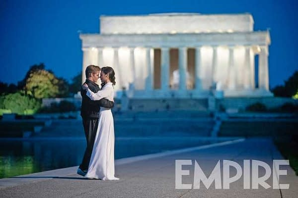 Empire debuted new images from Wonder Woman 1984 this morning. Courtesy of Warner Bros. Pictures and Empire Magazine.