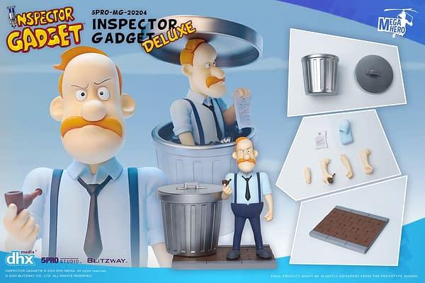Inspector Gadget Cartoon Returns with New Figures from Blitzway