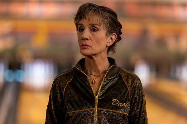 Harriet Walter as Dasha in Killing Eve, courtesy of AMC Networks.