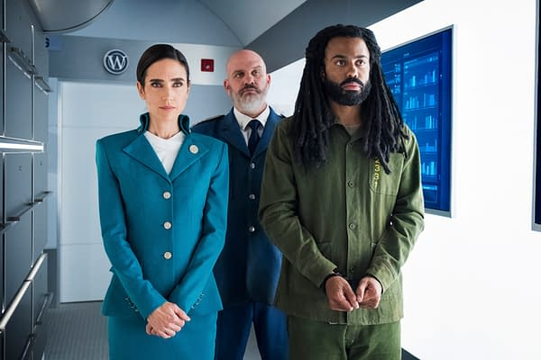 """Here's a look at the second episode of Snowpiercer, """"Prepare to Brace"""" (image: TNT)."""