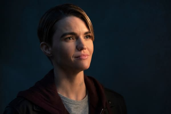Ruby Rose as Kate Kane in Batwoman, courtesy of The CW.
