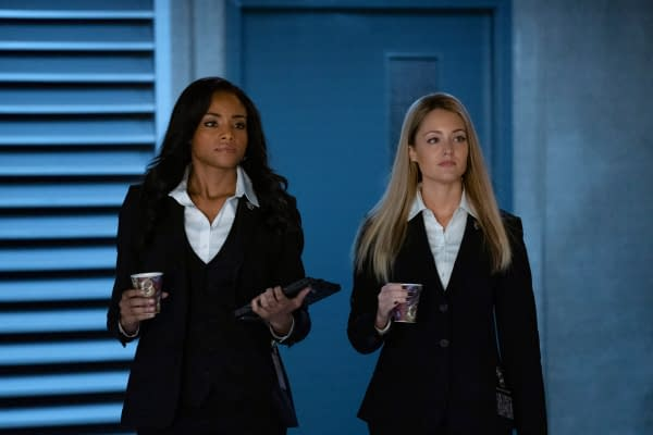 Meagan Tandy as Sophie Moore and Christina Wolfe as Julia Pennyworth in Batwoman, courtesy of The CW.