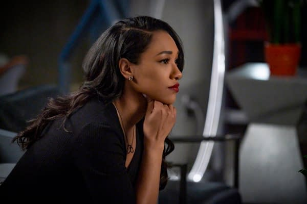 Candice Patton as Iris West in The Flash, courtesy of The CW.