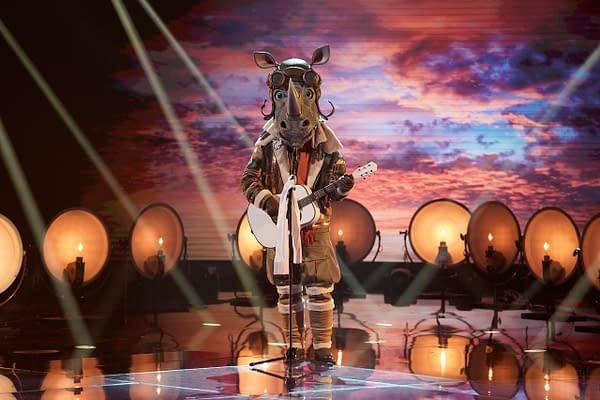 Rhino on The Masked Singer, courtesy of FOX.