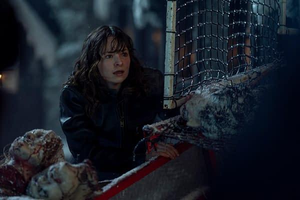 Ashleigh Cummings as Vic McQueen in NOS4A2, courtesy of AMC.