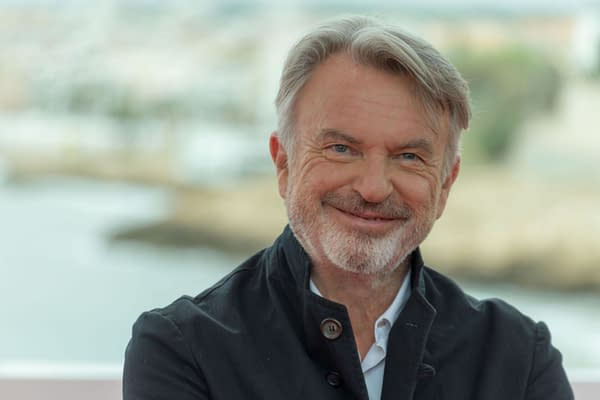 October 11, 2019: 52st Sitges Film Festival - Photo call of Sam Neill. Editorial credit: Luis Javier Villalba / Shutterstock.com Jurassic World