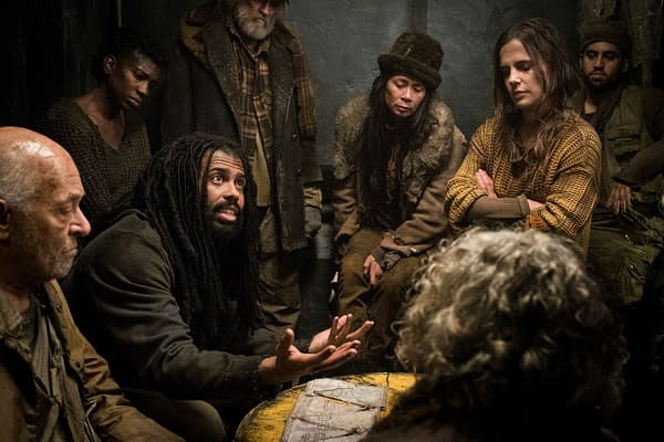 The seeds of rebellion take root on Snowpiercer, courtesy of TNT.