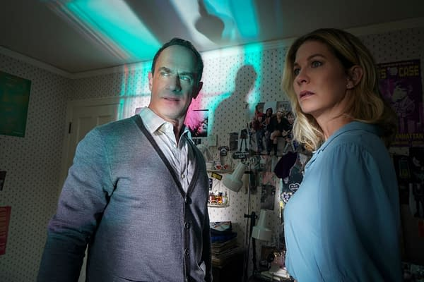 Jenna Elfman and Chris Meloni in The Twilight Zone, courtesy of CBS All Access.
