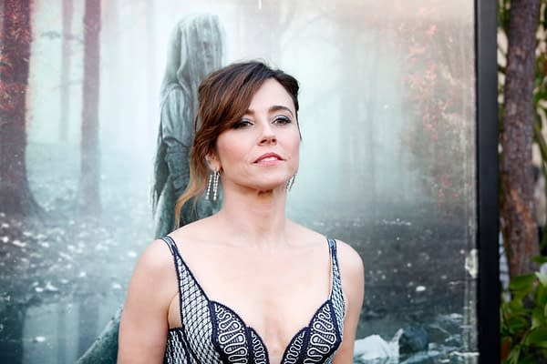 "Linda Cardellini at the ""The Curse Of La Llorona"" Premiere at the Egyptian Theater on April 15, 2019 in Los Angeles, CA. Editorial credit: Kathy Hutchins / Shutterstock.com MCU"