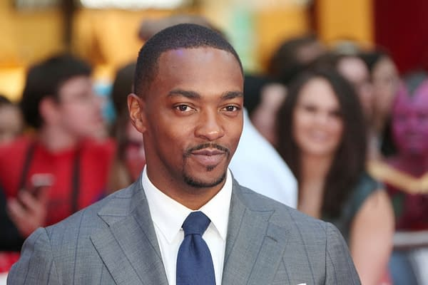 Anthony Mackie attends the European film premiere of 'Captain America: Civil War' at Vue Westfield on April 26, 2016 in London, England. Editorial credit: BAKOUNINE / Shutterstock.com