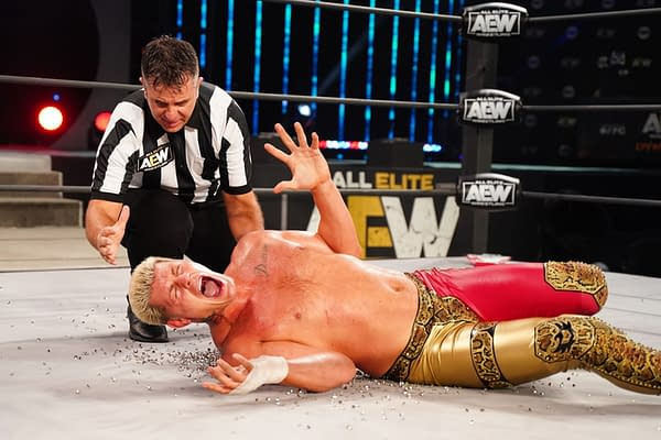 Cody Rhodes discovers acupuncture on AEW Dynamite
