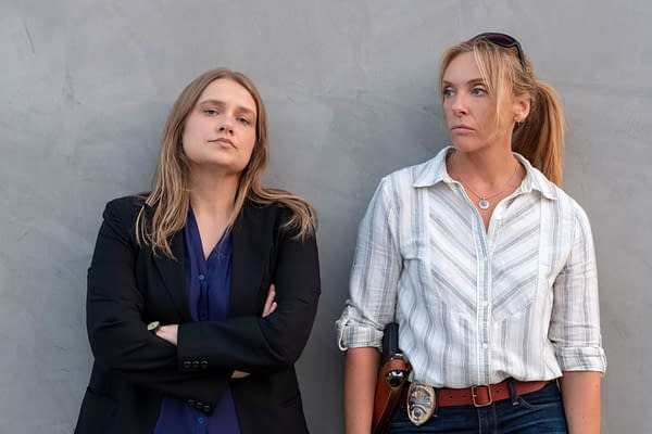 Merritt Wever and Toni Collette from Unbelievable (Image: Netflix)