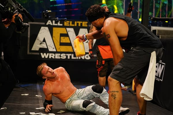 AEW Dynamite 7/8/20 Fyter Fest Night 2 Part 2 - Jericho vs. Cassidy (Image: AEW)