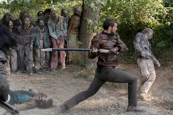 The Walking Dead: World Beyond Finds A Cure? Preview Images Released