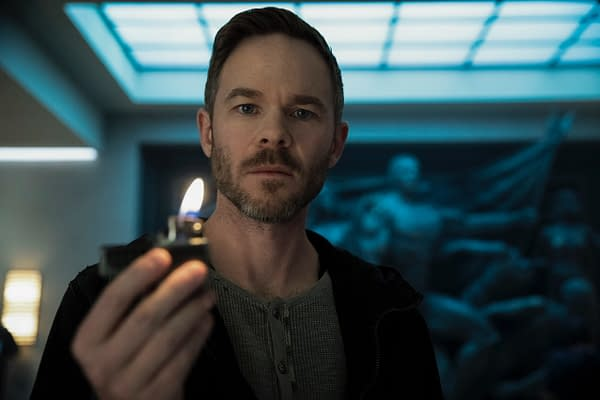 "The Boys Season 2 Casts Shawn Ashmore as Lamplighter; ""Radio Butcher"" (Image: Amazon Prime)"