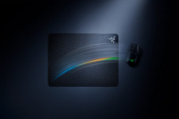 A look at the new Acari mouse mat, courtesy of Razer.