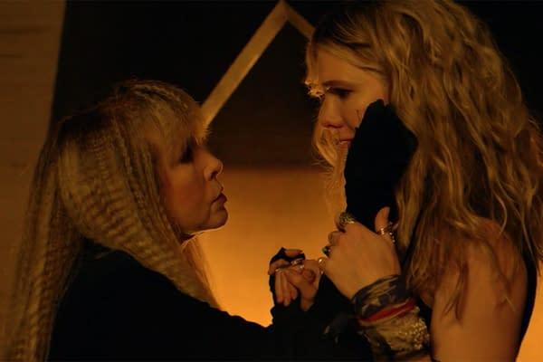Stevie Nicks in American Horror Story (Image: FX Networks)