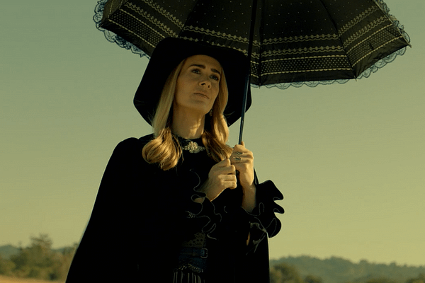 Ratched star Sarah Paulson plays Cordelia in American Horror Story, courtesy of FX.