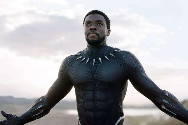 Chadwick Boseman as Black Panther (Image: Marvel Studios)