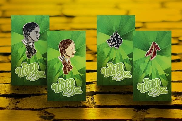 Mondo Has New Wizard of OZ Pins And A Poster Available Tomorrow