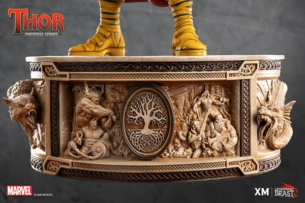 Thor Gets New Marvelous Statue from XM and Legendary Beast Studios
