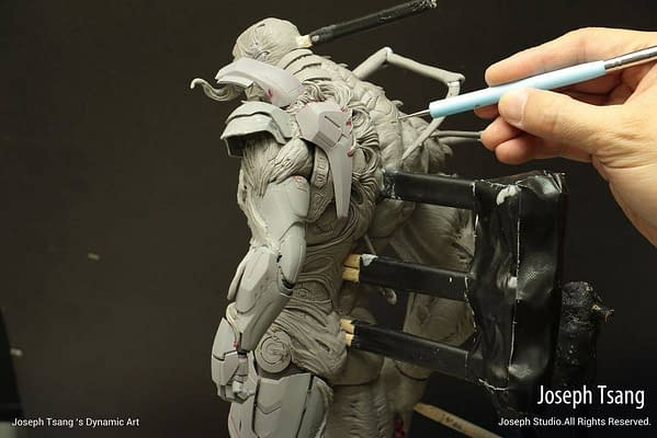 Hot Toys Shows Behind the Scenes of the New Venomized Iron Man