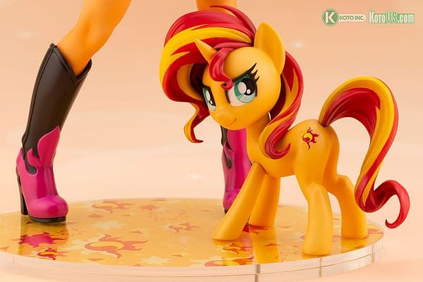 My Little Pony Summer Shimmer Joins Kotobukiya With New Statue