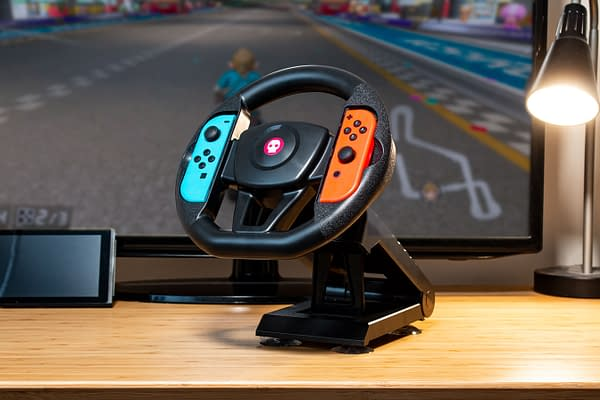Now you can drive in Mario Kart in style, courtesy of Numskull.