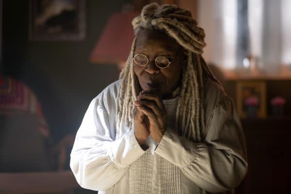 Pictured: Whoopi Goldberg as Mother Abigail of the the CBS All Access series THE STAND. Photo Cr: Robert Falconer/CBS ©2020 CBS Interactive, Inc. All Rights Reserved.