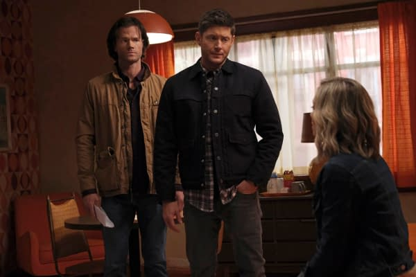 Supernatural Offers Previews, BTS Looks & A Winchester Crotch Rocket?
