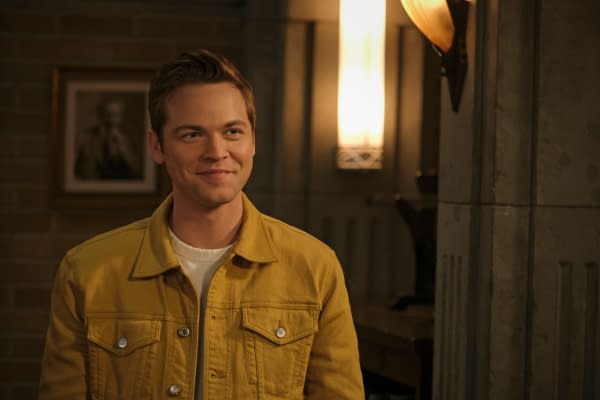 "Supernatural -- ""Unity"" -- Image Number: SN1517A_0368r.jpg -- Pictured: Alexander Calvert as Jack -- Photo: Jeff Weddell/The CW -- © 2020 The CW Network, LLC. All Rights Reserved."