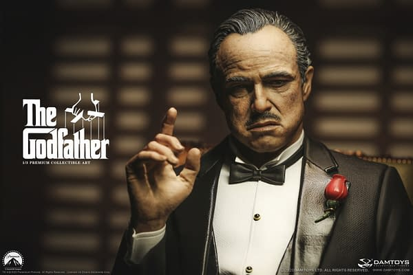 The Godfather is Back With Vito Andolini Corleone Statue from DAMTOYS