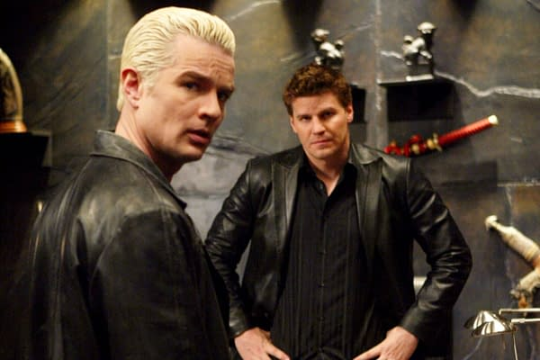 Buffy the Vampire Slayer: Angel and Spike (Image: WarnerMedia)
