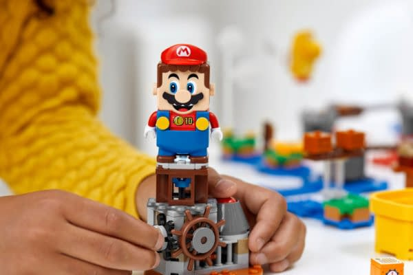 Build Your Own Super Mario Bros. Level with LEGO