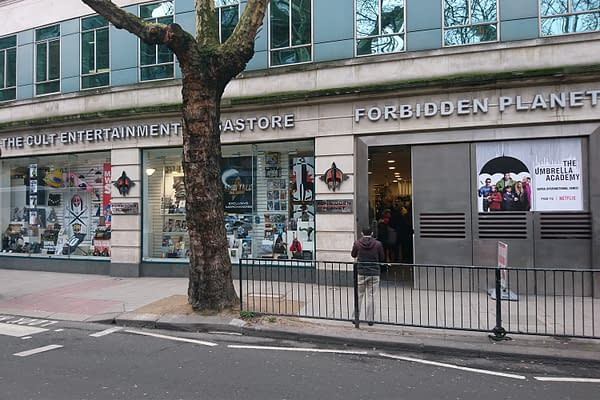 Forbidden Planet Launches Its First Curbside Service In The UK
