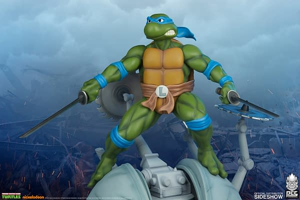 Teenage Mutant Ninja Turtles Get New Statue from PCS and Sideshow