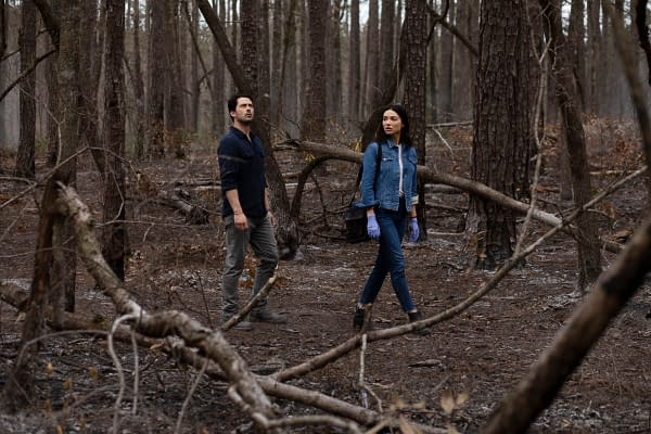 Swamp Thing Season 1 Preview: Abby and Alec Have a Rotten Reunion